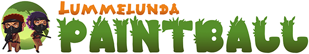 Välkommen till Lummelunda Paintball Logotyp