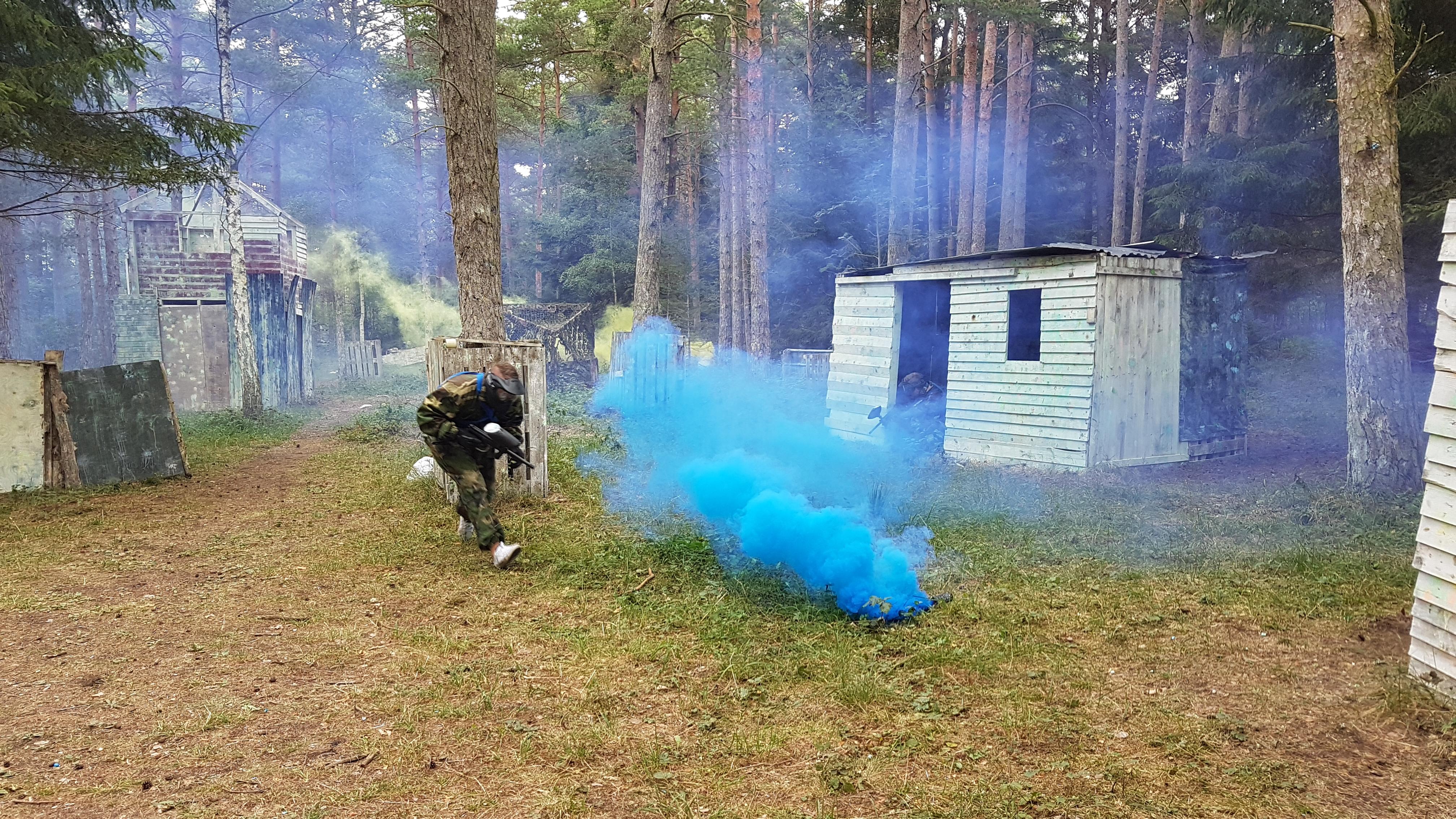 paintball rökgranat